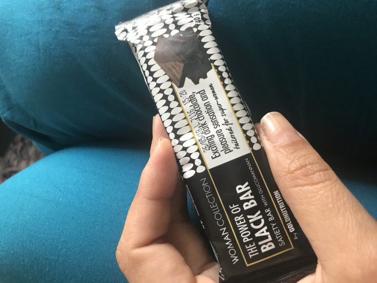 gold nutrition black bar